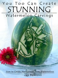 stunning watermelon carvings